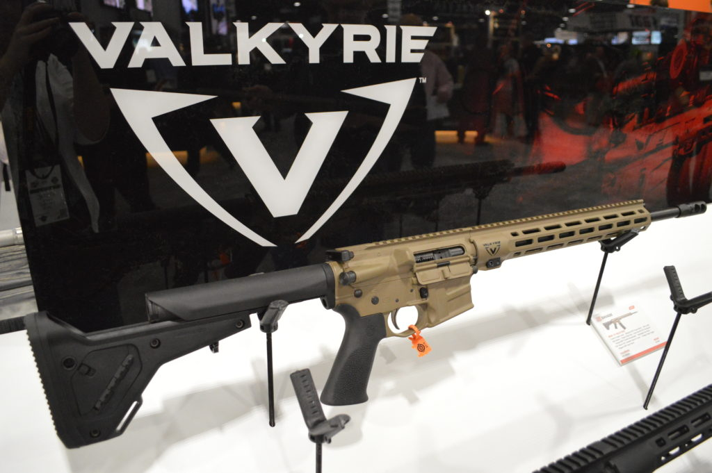 """Though many companies have already jumped on the .224 Valkyrie bandwagon, Savage's own MSR offerings are on point, with 18"""", 20"""", and 22"""" barrels coming soon. (Photo: Kristin Alberts/Guns.com)"""