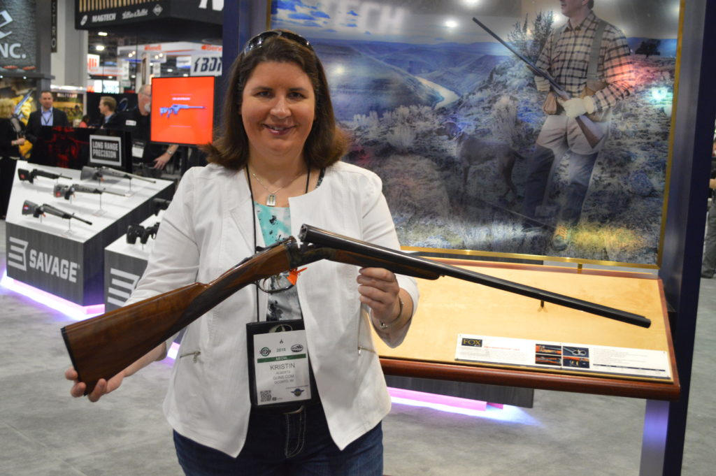 The new and improved Fox side-by-side shotgun, available in both 12 and 20 gauge, was a performer on the clays range and a looker on the shelf. (Photo: Kristin Alberts/Guns.com)
