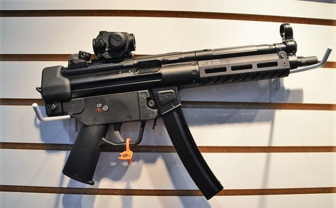 New at SHOT Show 2018: Roller locked MP5 clones abound (PHOTOS