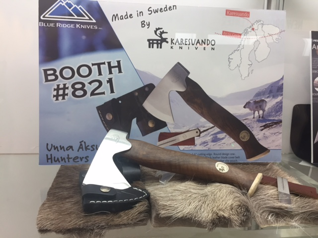 The Swedish-made Karesuando Hunter's Axe is not only beautiful, but also rugged and functional. (Photo: Kristin Alberts/Guns.com)