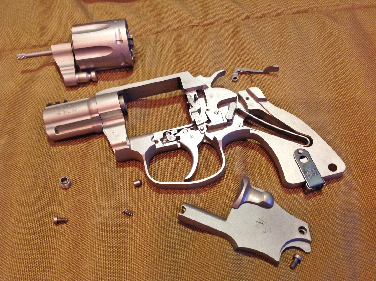 An astute study of the new Cobra's internals reveals several Metal Injection Molded (MIM) parts, including the hammer and trigger. (Photo: Kristin Alberts/Guns.com)