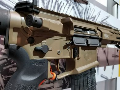 M400 VTAC with the new ambi bolt catch.
