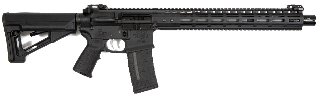 The Infidel is chambered in 5.56 and features a (Photo: Noveske)