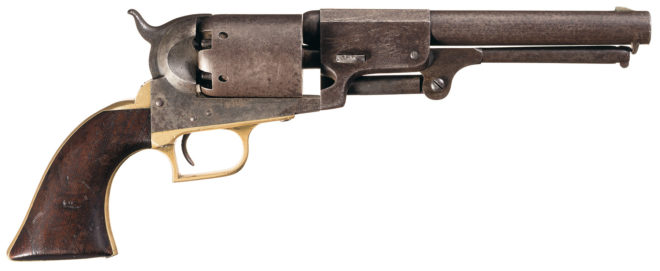 """Slightly smaller than the guns it was to replace, the Fluck sported a """"puny"""" 7.5-inch barrel."""