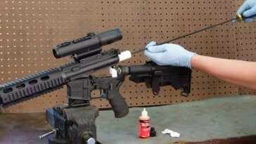 steps to clean your rifle image